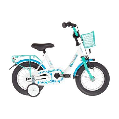 "Vélo Enfant VERMONT GIRLY 12"" Bleu/Blanc 2019"